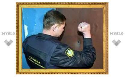Приставы взыскали с туляков миллион рублей