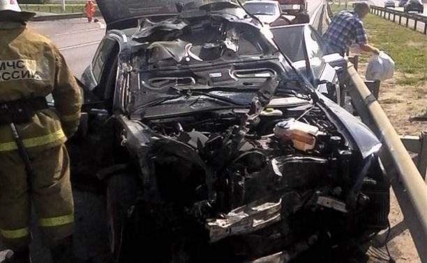 В ДТП на трассе «Москва-Дон» пострадали два человека