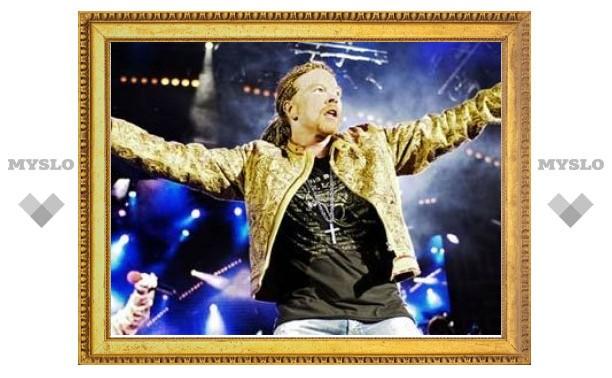 Guns N'Roses впервые выступят в России