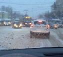 Из-за снегопада утром в Туле произошло 25 аварий