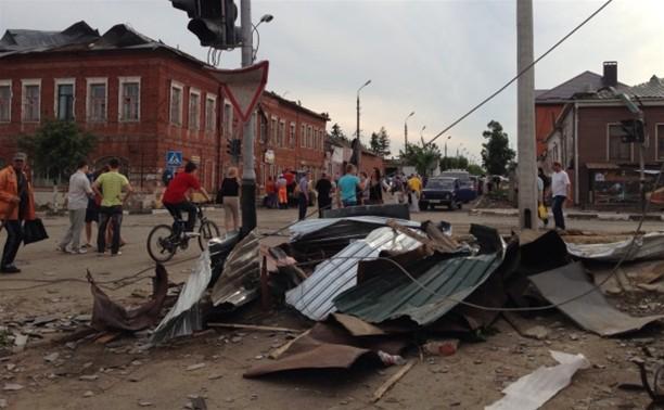 На территории Тульской области отменен режим чрезвычайной ситуации