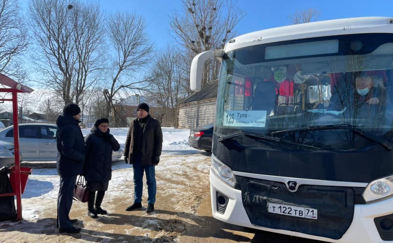 По просьбе жителей в Туле увеличили количество автобусов №125