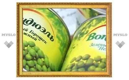 В Туле продают поддельные консервы
