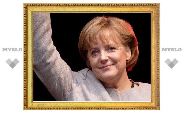 Ангелу Меркель удостоили медали британского Королевского общества