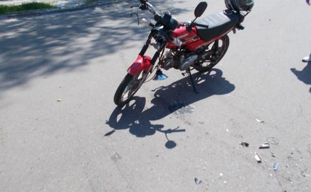 В ДТП в Кимовске пострадал подросток-скутерист