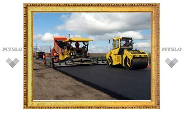 В Туле ремонт дорог отстает от графика
