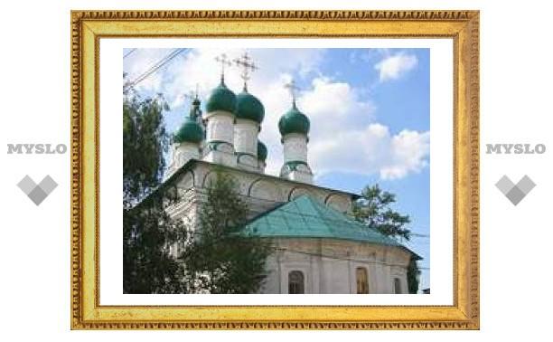 В Туле началась реставрация Благовещенского храма