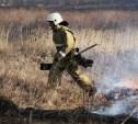 В Тульской области штрафуют поджигателей сухой травы