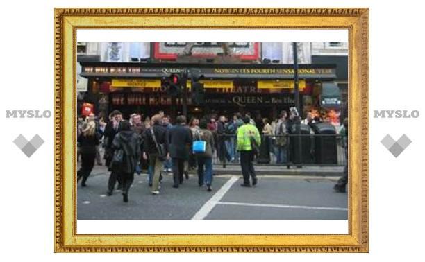 Лондонские театры обзавелись вышибалами