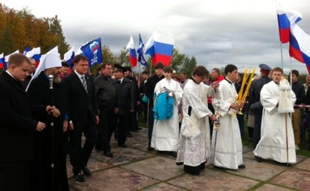 Владимир Груздев принял участие в фестивале «Поле Куликово»