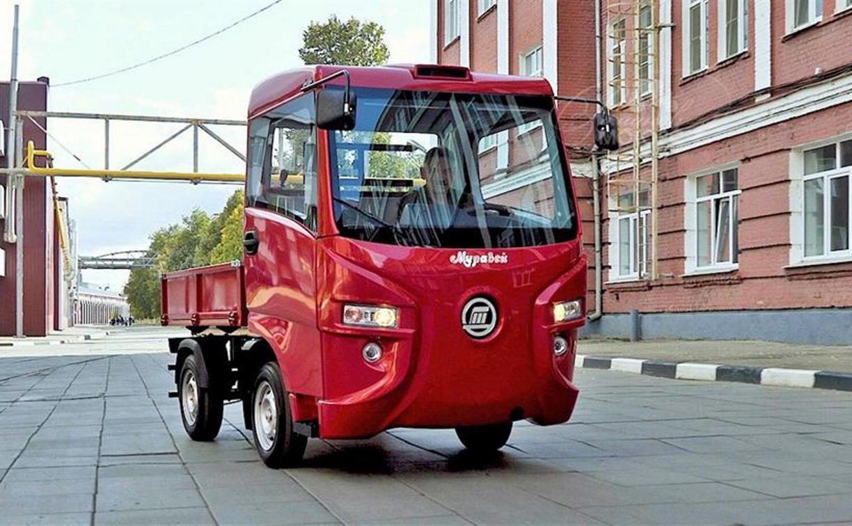 В России начались продажи тульского электрогрузовика «Муравей»