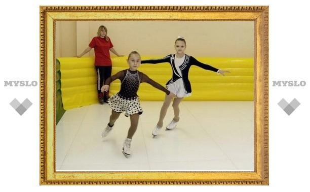 Тульские лицеисты смогут круглый год кататься на коньках