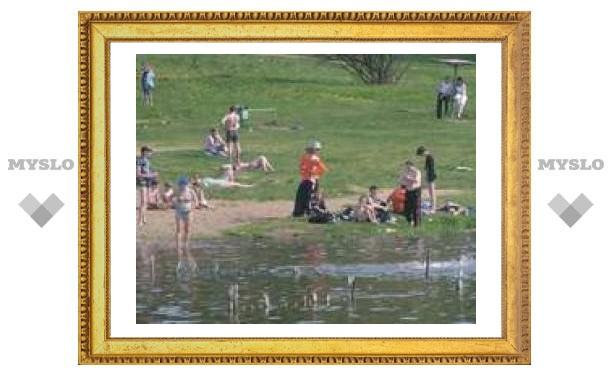 Тулякам разрешили купаться в Центральном парке