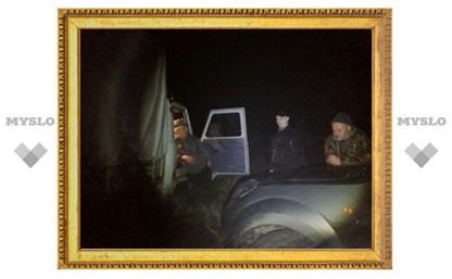 Первыми на место крушения вертолета под Тулой прибежали местные охотники
