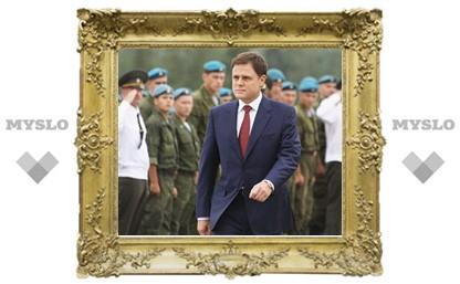 Врио губернатора Тульской области Владимир Груздев: «Команда должна быть как БМП – боевой, мобильной