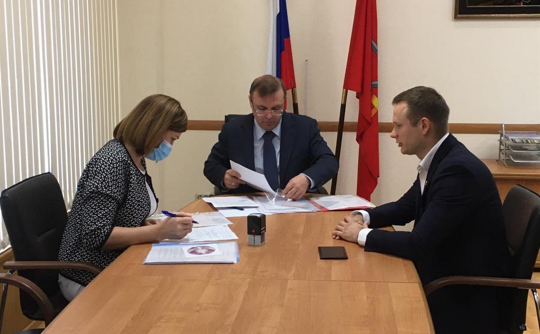 Владимир Исаков выдвинул свою кандидатуру на пост губернатора Тульской области