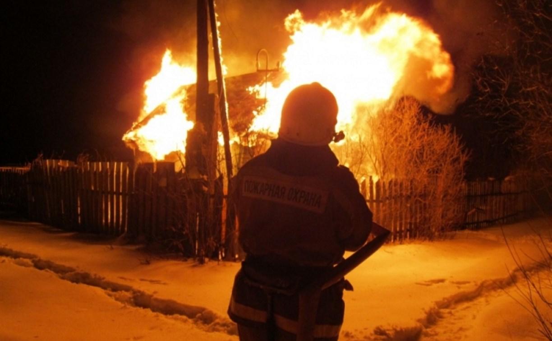 В Ефремове сгорели шесть дач