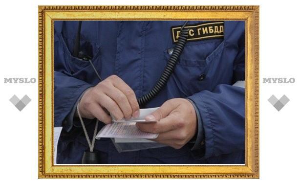 Тульский сотрудник ДПС задержан с взяткой