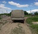 В Туле на ядовитой свалке в Заречье поймали водителя груженной мусором «Газели»