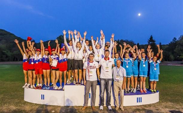 Туляки стали победителями Президентских спортивных игр в Туапсе