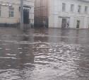 Тульские улицы затопило после сильного дождя: фото и видео