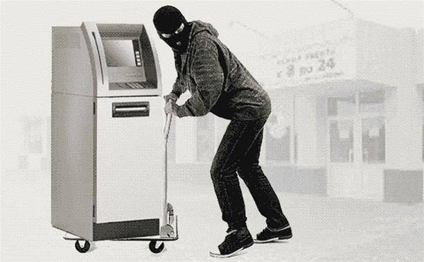 В Алексинском районе преступная банда ворует банкоматы