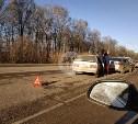 На автодороге Тула — Новомосковск столкнулись пять машин