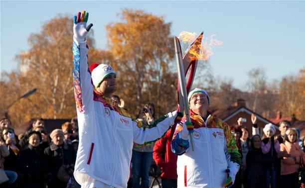 Эстафета олимпийского огня: как это было?