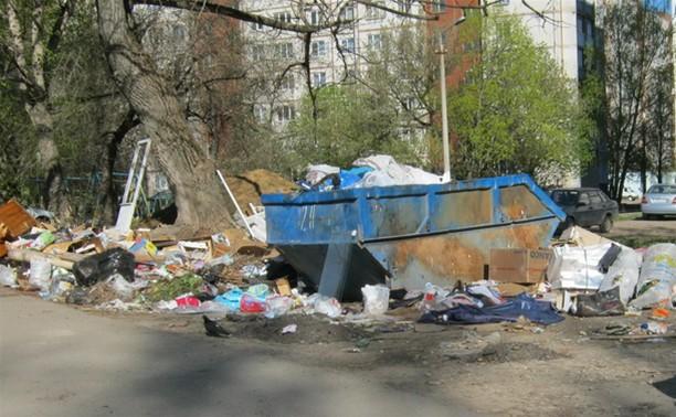 После субботников Тула утонула в мусоре