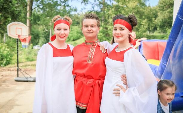 Жители Барсуков отметили 85-летие посёлка