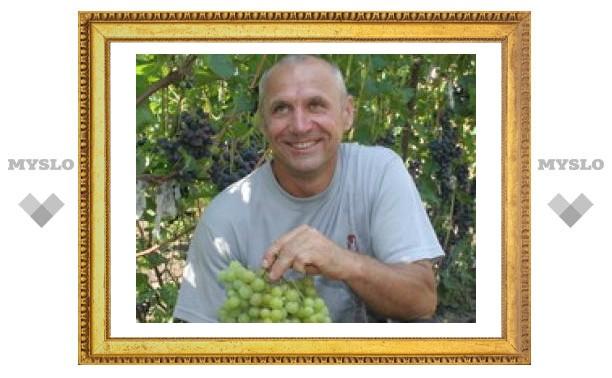 Тульского виноградаря признали во всем мире