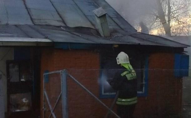 В Плавске при пожаре погибла пенсионерка
