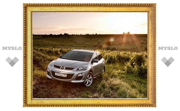 В Россию привезли кроссовер Mazda CX-7 с передним приводом
