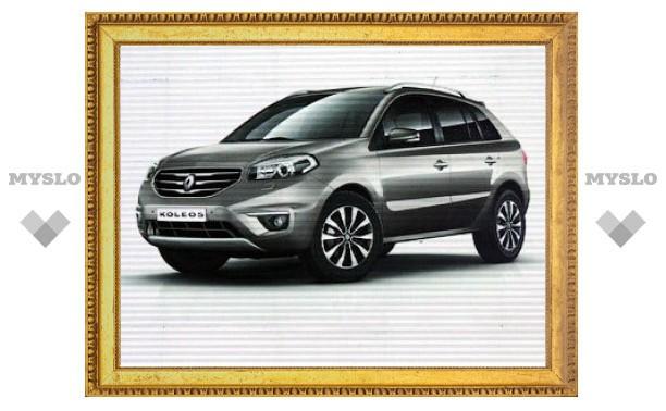 Появились первые изображения нового Renault Koleos