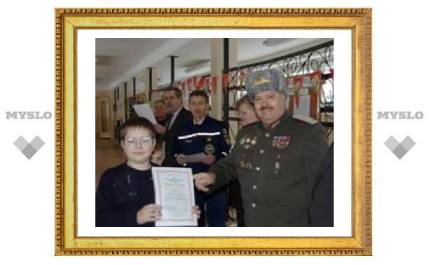 Тульские кадеты отпраздновали юбилей