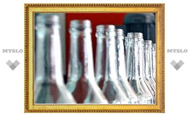 В Туле почти 1700 литров алкоголя продавали нелегально