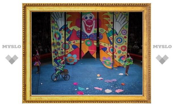 В Тулу приехал цирк Юрия Никулина
