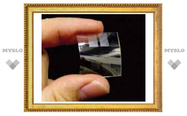 Японские ученые создали прозрачную полимерную батарейку