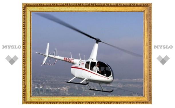 Упавший в Тульской области вертолет начал разваливаться еще в воздухе