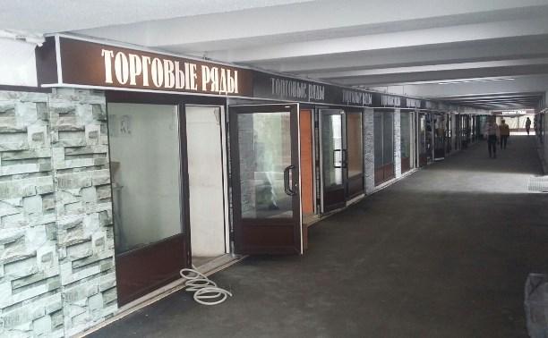 В Туле в подземном переходе на ул. Мосина появятся потолки с эффектом «шуба»