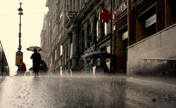 В среду в Тулу вернутся дожди