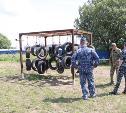 Спецназовцы тульского «Грифа» построили полосу препятствий