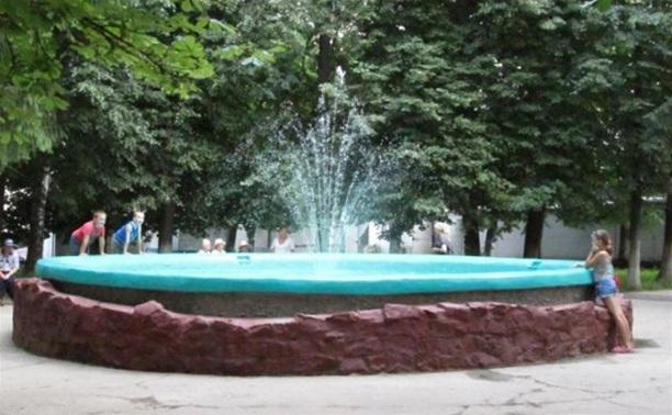 В Советске после 20-летнего перерыва снова заработал фонтан