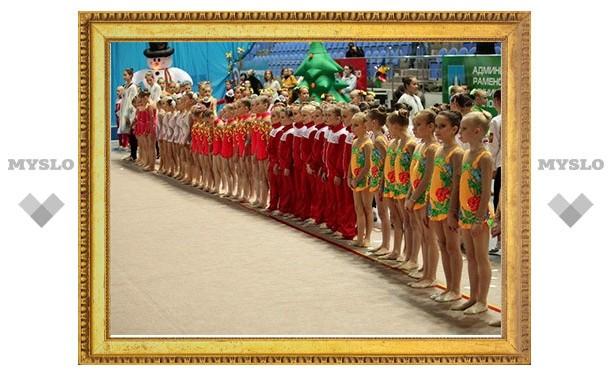 Гимнастки тульского «Роксэта» отличились в Минске