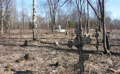 Под Тулой полицейские устроили засаду на кладбищенских воров