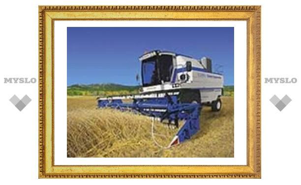 Хлеб в Тульской области почти убран