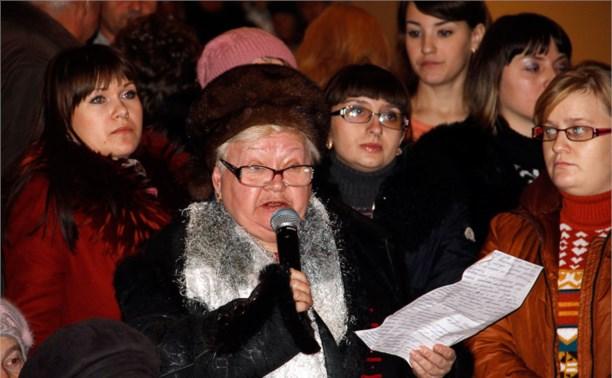 В Щёкино прошли общественные слушания по поводу сокращения чернобыльской зоны