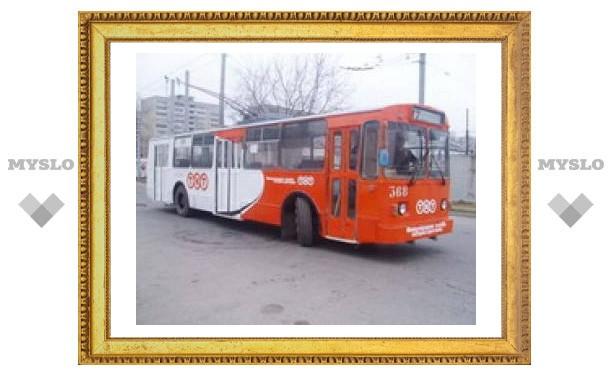 В Туле бастуют водители троллейбусов