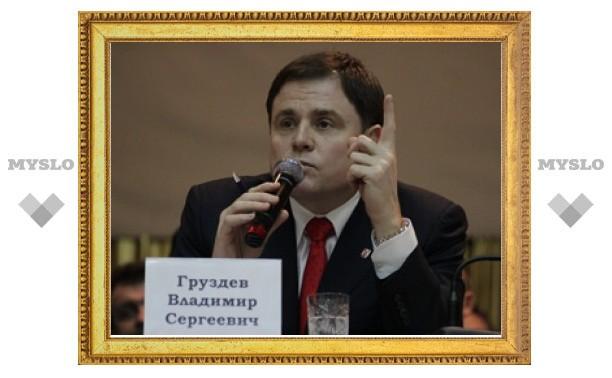 Владимир Груздев пообещал решить проблемы Чернского района Тульской области
