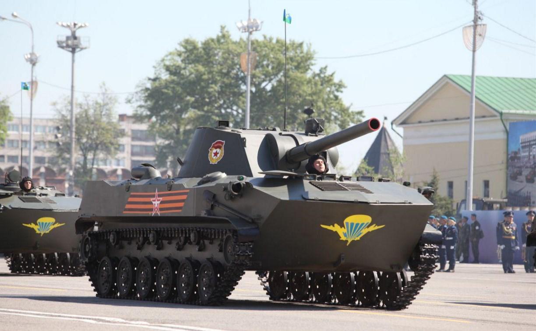 В Туле начался парад Победы